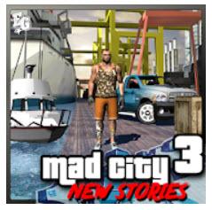 لعبة جنون مدينة الجريمة 3 قصص جديدة