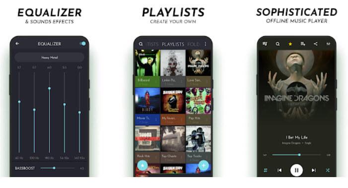 تطبيق مشغل الموسيقى audioPro