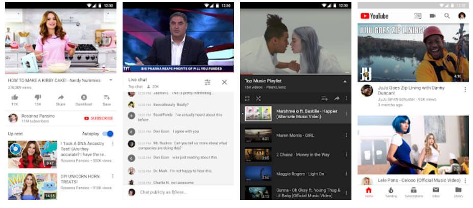 تطبيق YouTube الرسمي